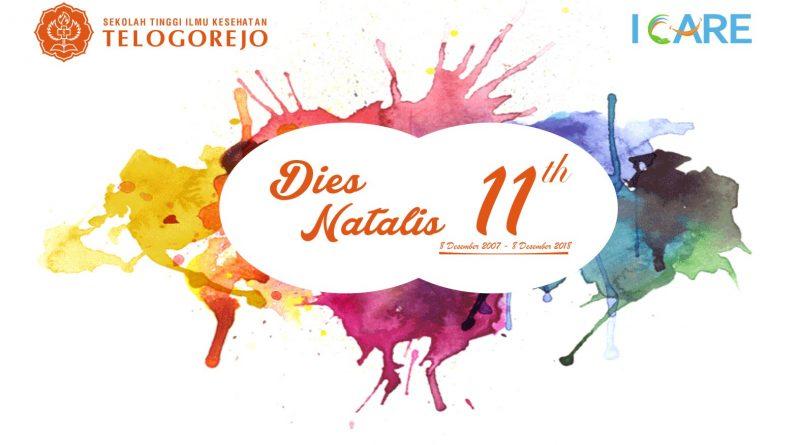 Dies Natalis STIKES Telogorejo 11 tahun 8 Desember 2007 – 8 Desember 2018