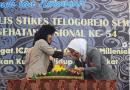 Acara pembukaan peringatan Dies Natalis STIKES Telogorejo Semarang ke-XI dan Hari Kesehatan Nasional ke-54.