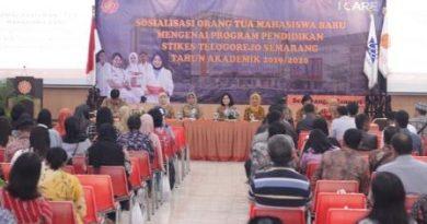 Sosialisasi Program Pendidikan Stikes Telogorejo Semarang bagi orang tua mahasiswa baru